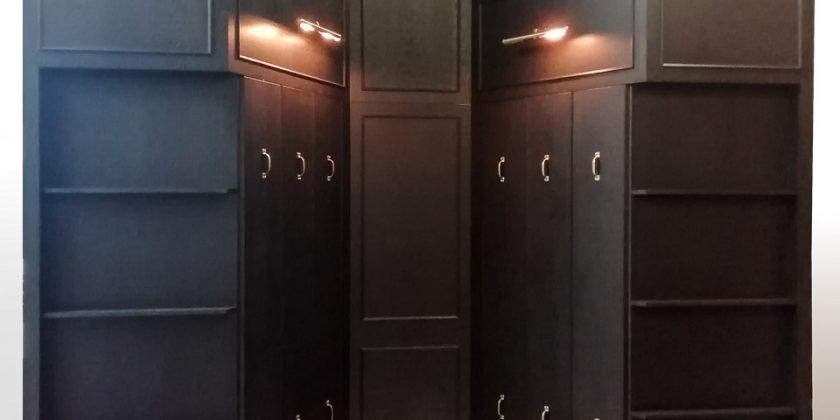 Magic closet-display