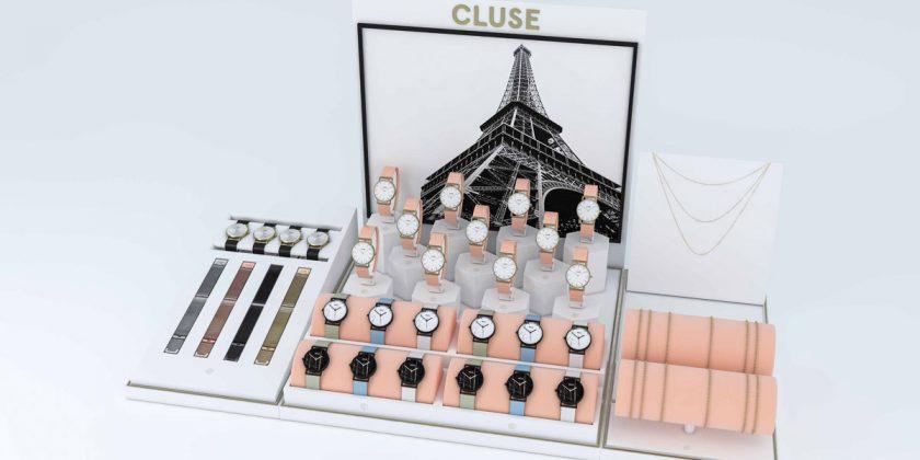 Cluse window display