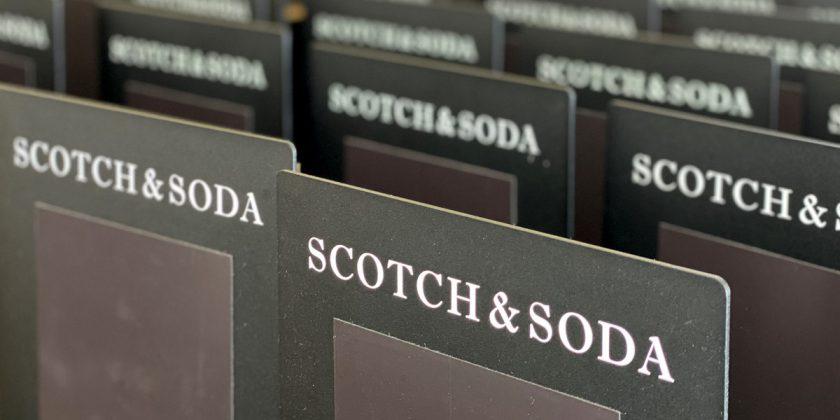 Scotch & Soda hygienic stand